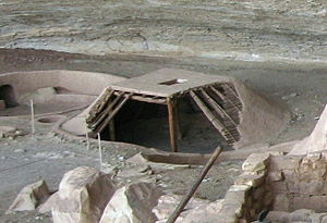 Basketmaker III Era - Example of a pit-house
