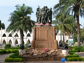 "Mali - WWI Commemorative Monument to the ""Armée Noire"""