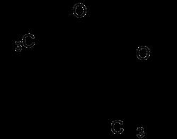 Struktur von Plagiodial