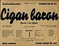Plakat za predstavo Cigan baron v Narodnem gledališču v Mariboru 21. aprila 1940.jpg