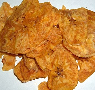 Chifle - Platanutres from Puerto Rico.