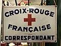 """Plaque """"Croix Rouge Française Correspondant"""".JPG"""