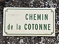 Plaque Chemin Cotonne - Solutré-Pouilly (FR71) - 2021-03-02 - 1.jpg
