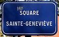 Plaque Square Sainte Geneviève - Rosny-sous-Bois (FR93) - 2021-04-15 - 1.jpg