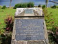 Plaque at Tighnabruaich celebrating 100 years of BB Camping - geograph.org.uk - 986348.jpg