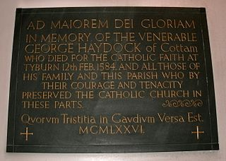 Eighty-five martyrs of England and Wales group of men who were executed on charges of treason