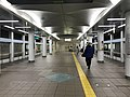 Platform of Cosmosquare Station (Nanko Port Town Line) 3.jpg