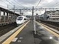 Platform of Nishi-Kokura Station (Kagoshima Main Line).jpg