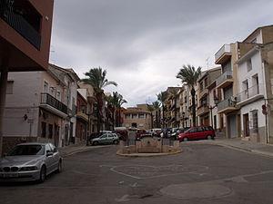 Godelleta - Image: Plaza de España de Godelleta