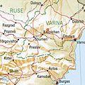 Pliska Bulgaria 1994 CIA map.jpg
