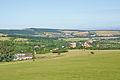Pohled na obec od jihu, Kuželov, okres Hodonín.jpg