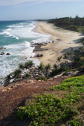 Point Arkwright looking south, Sunshine Coast, Australia - panoramio.jpg
