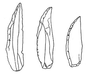Châtelperronian - Châtelperronian stone tools