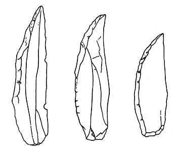 Châtelperronian stone tools