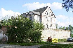 Ruiny zamku w Ełku