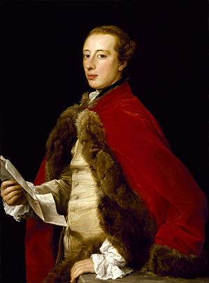 Pompeo Batoni - William Fermor, 1758, Museum of Fine Arts, Houston