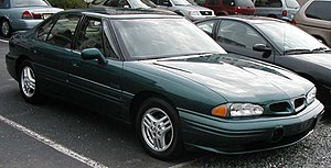 1992-1999 Pontiac Bonneville photographed in U...