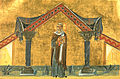 Pope Agatho (Menologion of Basil II).jpg