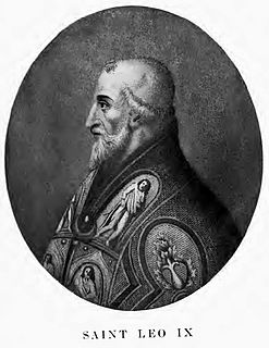 Pope Leo IX 11th century pope
