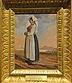 Popolana in costume del Lazio meridionale, Anton Sminck van Pitloo 001.JPG