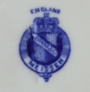 Brown-Westhead, Moore & Co - Image: Porcelain mark of Brown Westhead, Moore & Co