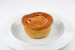 Pork pie - Image: Pork pie on plate