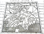 10th Map of AsiaIndia within the Ganges