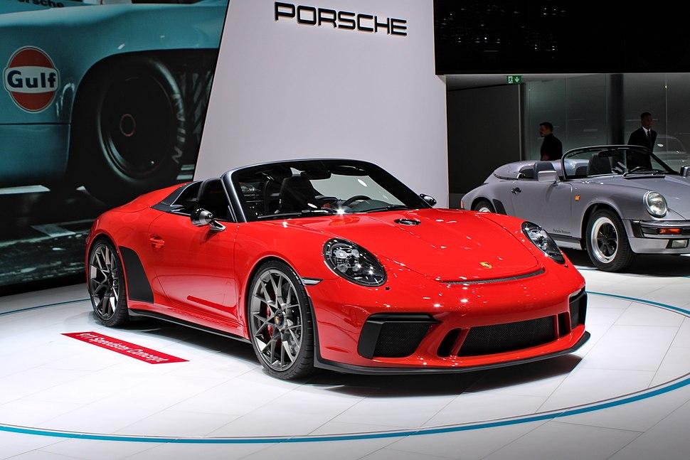 Porsche 911 Speedster Concept, Paris Motor Show 2018, IMG 0433
