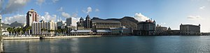 Port Louis Waterfront Panorama (4920891632).jpg