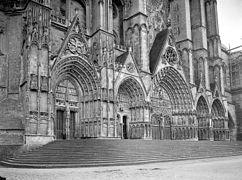 Portails de la Cathédrale Saint-Etienne à Bourges , Georges-Louis Arlaud.jpg