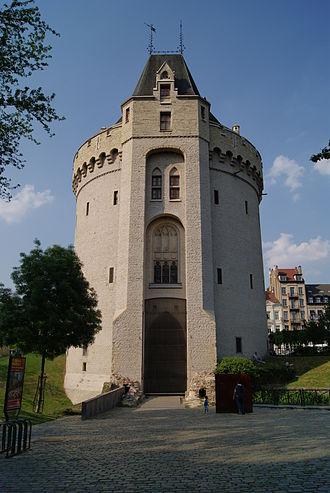 Halle Gate - Halle Gate in 2011, Sint-Gillis (Saint-Gilles) side.