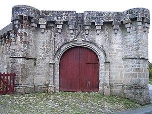 Guémené-sur-Scorff - The Porte des Rohans, in Guémené