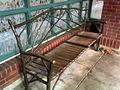 PortlandMAX Orenco station bench.jpg