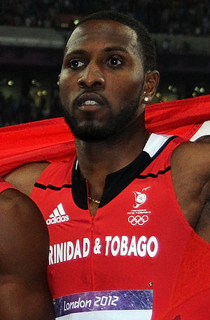 Richard Thompson (sprinter) - Thompson at the 2012 Olympic Games