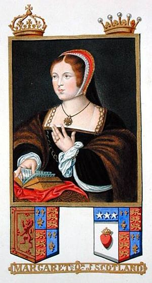 English: A picture of Margaret Tudor from &quo...