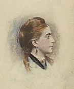 Blanche L. Clarke, aged 18