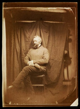 Sailor - Portrait of a sailor taken on board the French aviso Ardent, 1857.