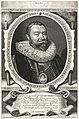 Portret van Abraham van der Meer op 42-jarige leeftijd met portret miniatuur van zijn vrouw Maria van den Corput op 23-jarige leeftijd, RP-P-BI-6881.jpg