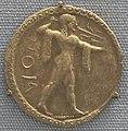 Poseidonia (paestum), statere con poseidone e il tridente, 500 ac. ca. 02.JPG