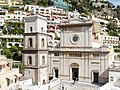 Positano Santa Maria Assunta tower and front.jpg
