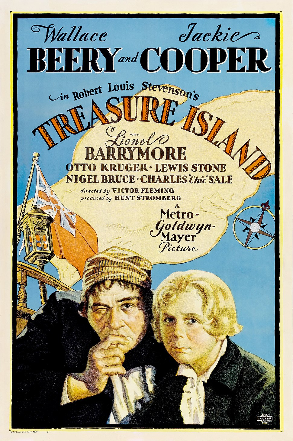 Poster - Treasure Island (1934) 01 colour edit