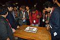 Prachatos Mitra - Bengali Wikipedia 10th Anniversary Cake Cutting - Bengali Wikipedia 10th Anniversary Celebration - Jadavpur University - Kolkata 2015-01-09 3039.JPG