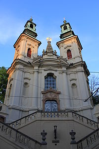 Church of St. John of Nepomuk in the New Town of Prague by Kilian Ignaz Dientzenhofer, 1730s.
