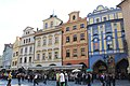 Prague Praha 2014 Holmstad bytorget fasader sørsiden.JPG