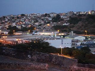 Lem Ferreira Neighbourhood in Praia, Santiago Island, Cape Verde