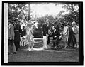Pres. & Mrs. Coolidge at garden party, 6-3-26 LCCN2016842192.jpg