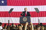 President Donald Trump speaks to U.S. service members overseas 170527-M-GL218-231.jpg