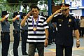 President Rodrigo Duterte arrives at the Police Regional Office-10 Headquarters at Camp 1LT Vicente G. Alagar in Lapasan, Cagayan de Oro City on September 22.jpg