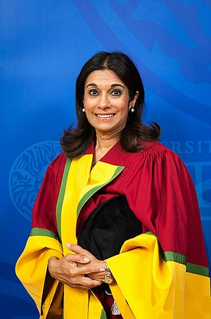 Princess Sarvath al-Hassan - Princess Sarvath in 2015 graduating from her honorary doctorate program