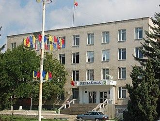 Drochia - Image: Primaria orasului Drochia Wiki